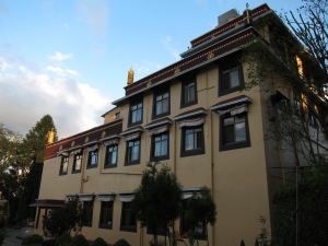 Building at Kopan Monastery