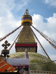The Stupa at Boudhanath