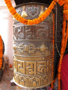 Prayer Wheel, Boudhanath