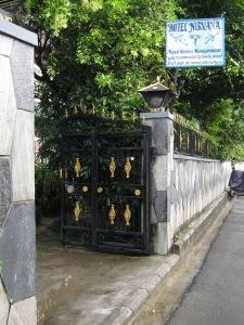 Entrance to Hotel Nirvana, Pokhara