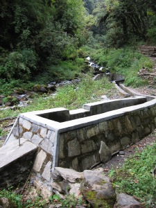 Mini Hydroelectric Installation