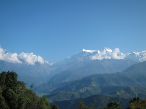 View from Sarangkot