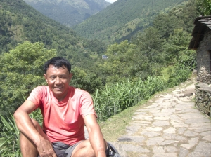 My Competent, Professional & Protective Guide, Mr. Mane Gurung