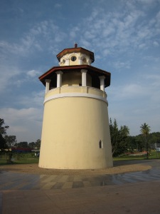 Guard Tower at the former Bangalore Central Jail, where Freedom Fighters were held, now part of the Freedom Park.