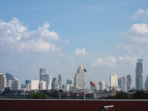 Bangkok Skyline as seen from Wat Arun