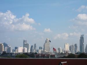 Bangkok Skyline as seen from Wat Arun