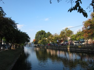 The Moat around Chiang Mai.