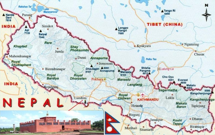 Map_of_Nepal_showing_location_of_Lumbini