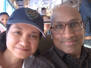 With Toi, my Friend & Tourguide!