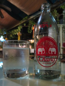 Nothing like a Chang (soda) to beat the heat.