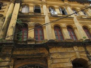 Random colonial building, Yangon.