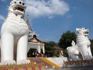 Entrance to Mandalay Hill