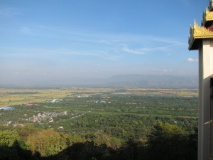 View from top of Mandalay Hill.