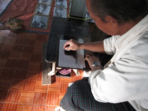 Artist, Mandalay Hill.