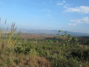 The hills of eastern Myanmar.