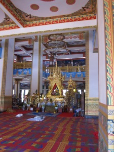 Inside of Wat Nong Wang.
