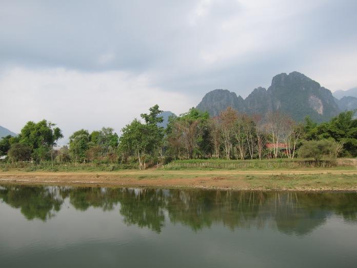 Nam Song (River), Vang Vieng.