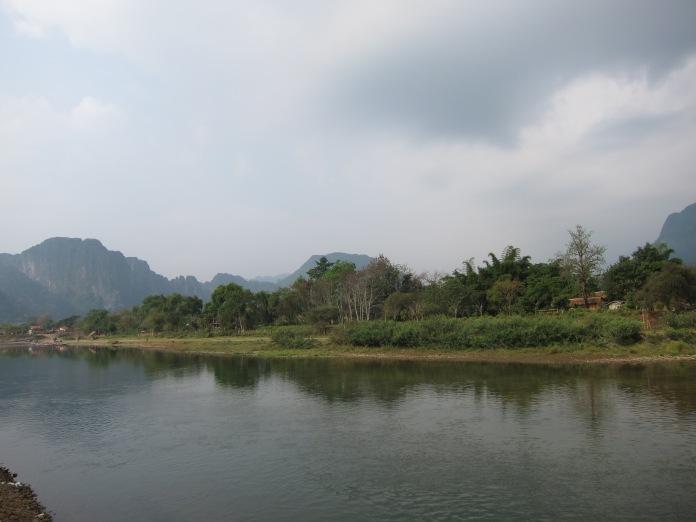 Nam Song, Vang Vieng, Laos.