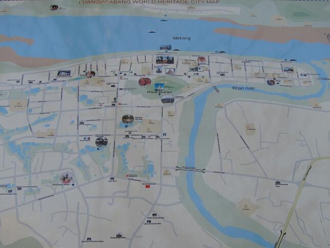 Luang Prabang Map