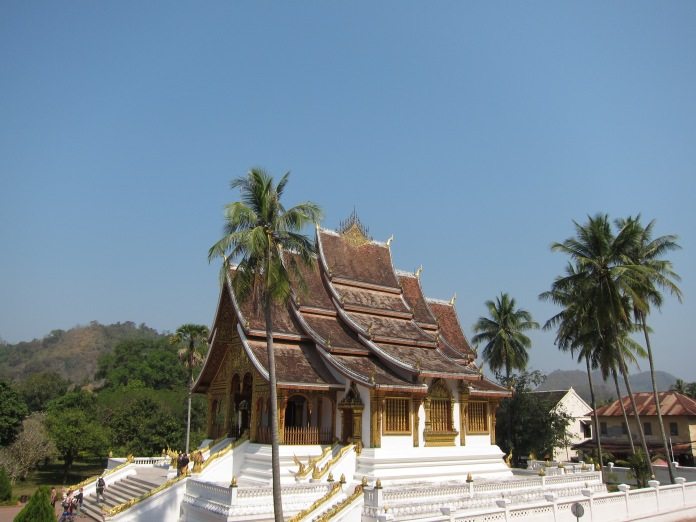 Wat Ho Pha Bang, part of the Royal Palace Museum complex.
