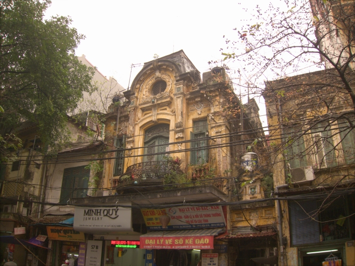 Old Colonial Building, Hanoi.