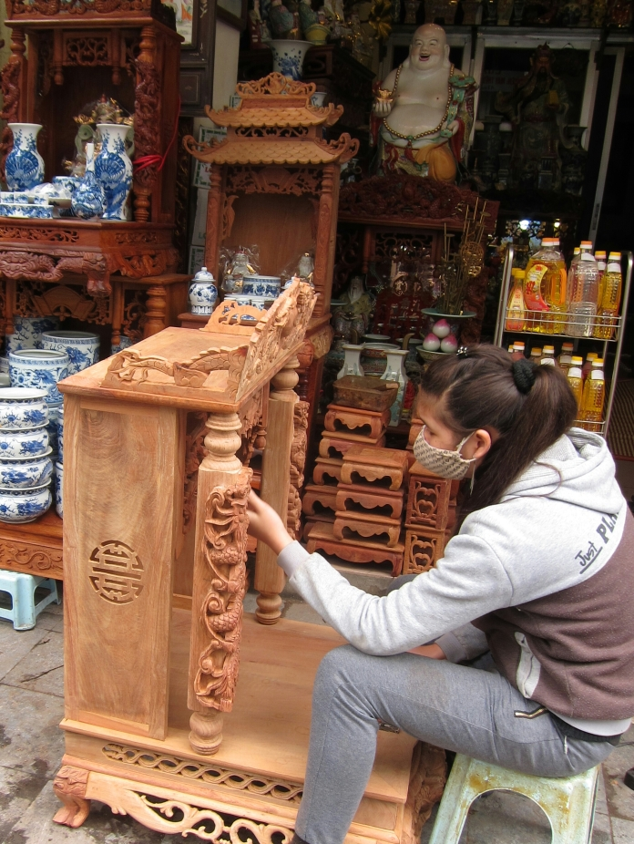 Furniture Craftswoman.