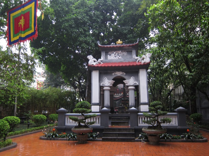Monument of King Le Thai To (1385 - 1433), Hanoi.
