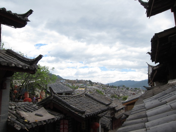 Rooftops of Lijiang.