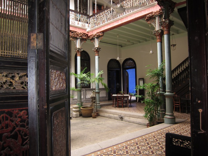 The Blue Mansion of Georgetown businessman and politician Cheong Fatt Tze (1840 - 1916).