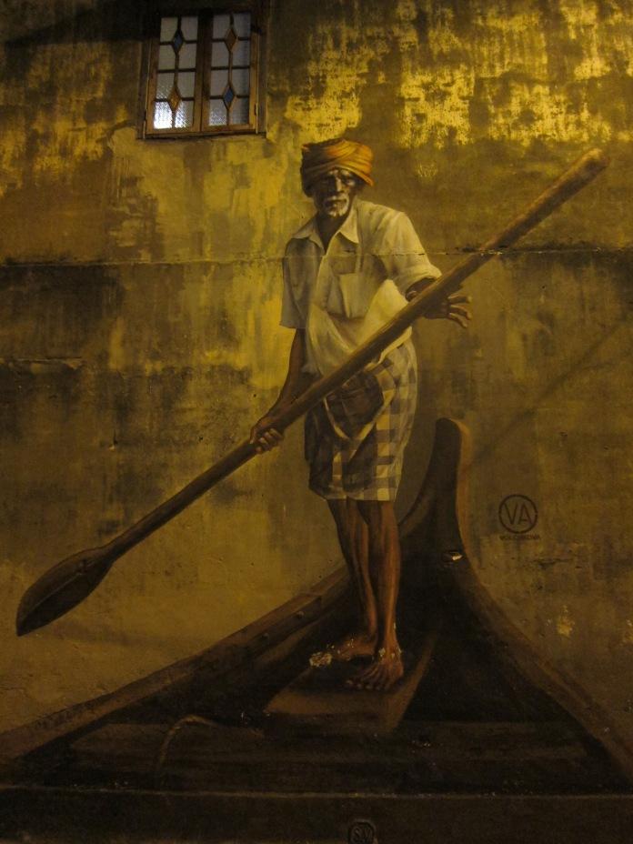 Wall Mural.